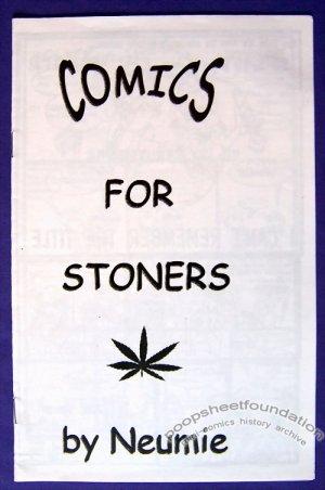 COMICS FOR STONERS mini-comic JASON NEUMAN Neumie 2000