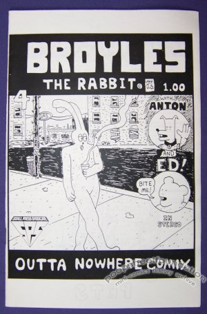 BROYLES THE RABBIT #4 mini-comic JERRY SMITH small press SPS 1994