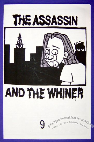 ASSASSIN AND THE WHINER #9 mini-comic CARRIE McNINCH 1998