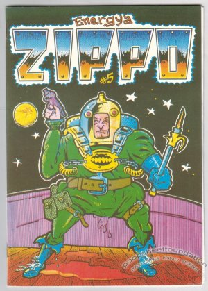 ZIPPO #5 Finnish comix REIMA MAKINEN sci-fi EL BORBAH Wally Wood 1991