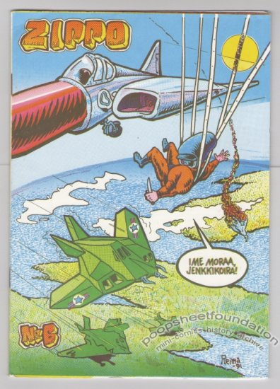 ZIPPO #6 Finnish comix REIMA MAKINEN small press 1992