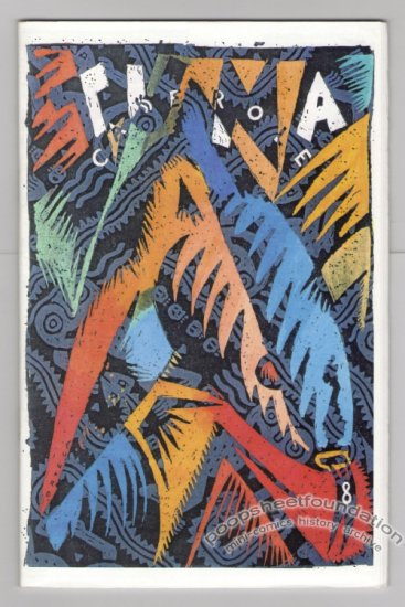 TUNA CASSEROLE #8 mini-comic GARY PANTER Mark Martin SAM HENDERSON Tom Hart 1980s