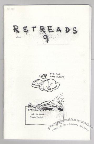 RETREADS #9 mini-comic STEVE WILLIS comix 2005