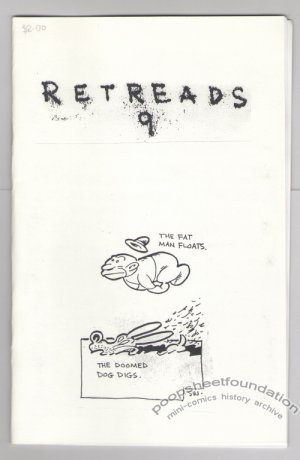 RETREADS #9 mini-comic STEVE WILLIS comix 2005