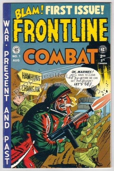 FRONTLINE COMBAT 1 Kurtzman DAVIS Gemstone war EC comic