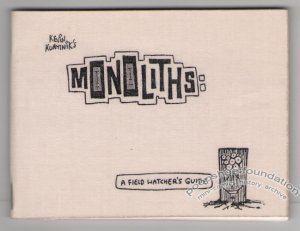 MONOLITHS Canadian mini-comic KEVIN KURYTNIK 1989