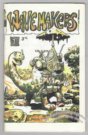 WAVEMAKERS #7 Canadian mini-comic EARL GEIER Brad Foster GREG HYLAND 1990