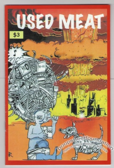 USED MEAT #1 Canadian mini-comic RICK LIMACHER Alan Limacher 2007