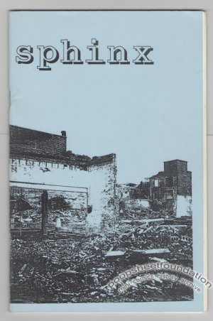 SPHINX Vol. 1, #1 mini-comic LARRY JOHNSON zine 1994