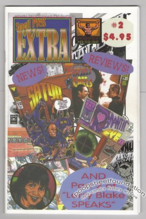 SMALL PRESS EXTRA #2 mini-comics LARRY BLAKE reviews 2006