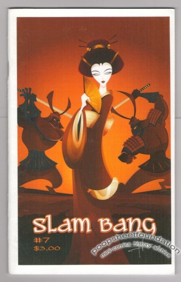 SLAM BANG Vol. 2, #7 mini-comic JEFF GAITHER Jim Siergey BRAD FOSTER Russ Maheras 2005