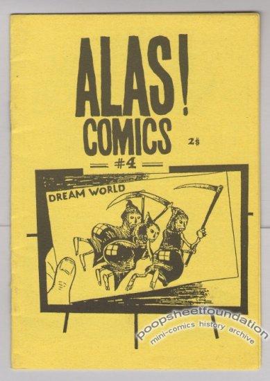 ALAS COMICS #4 Serbian mini-comic ALEKSANDAR ZOGRAF 1990s