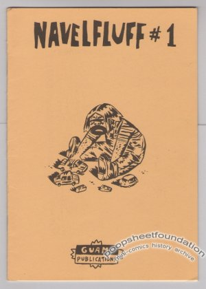 NAVELFLUFF #1 Danish mini-comic JAN SOLHEIM 1997