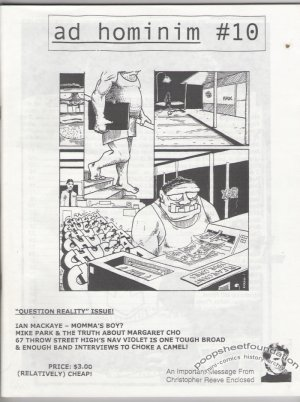 AD HOMINIM #10 zine FUGAZI Joe Grillo JOHNNY RYAN