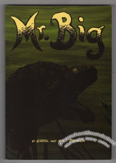 MR. BIG book collection MATT DEMBICKI mini-comic 2007