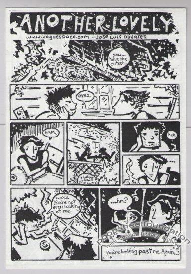 ANOTHER LOVELY mini-comic JOSE LUIS OLIVARES