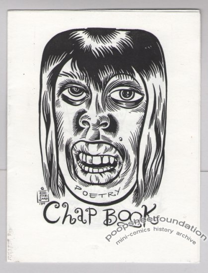 POETRY CHAP BOOK mini-comic E FITZ SMITH zine 1994