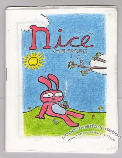 NICE COMICS Australian minicomics MANDY ORD Michael Fikaris NEALE BLANDEN