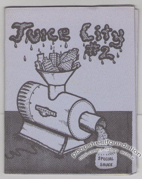 JUICE CITY #2 underground comix TUCKER PETERTIL mini-comic 1978