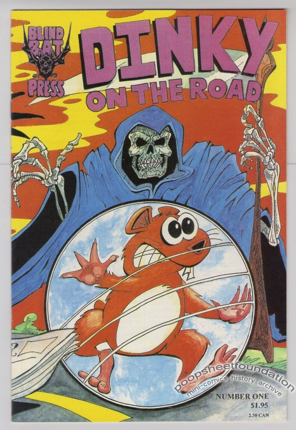 DINKY ON THE ROAD #1 comic book JOHN MIGLIORE Greg Hyland 1994