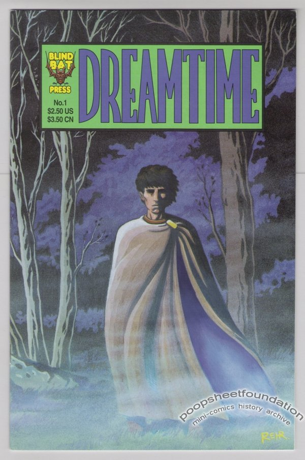 DREAMTIME #1 comic book HENRIK REHR 1995