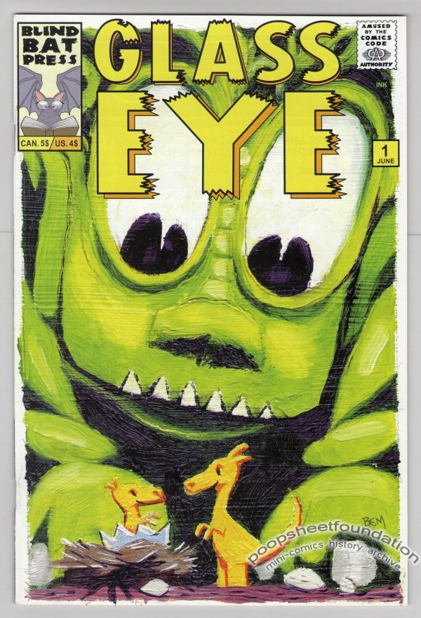 GLASS EYE #1 comic book BERNIE MIREAULT Earl Geier LARRY BLAKE 2005