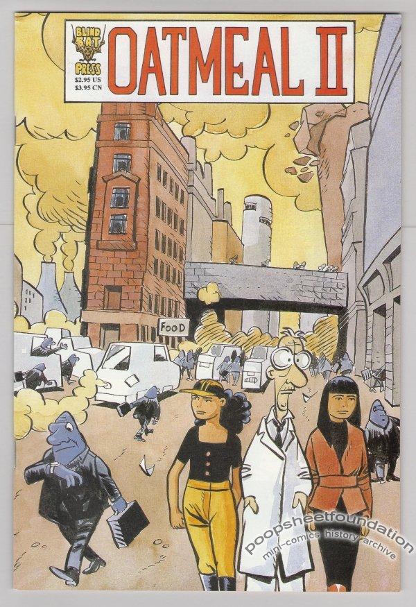 OATMEAL II comic book HENRIK REHR Lars Horneman science fiction 1996
