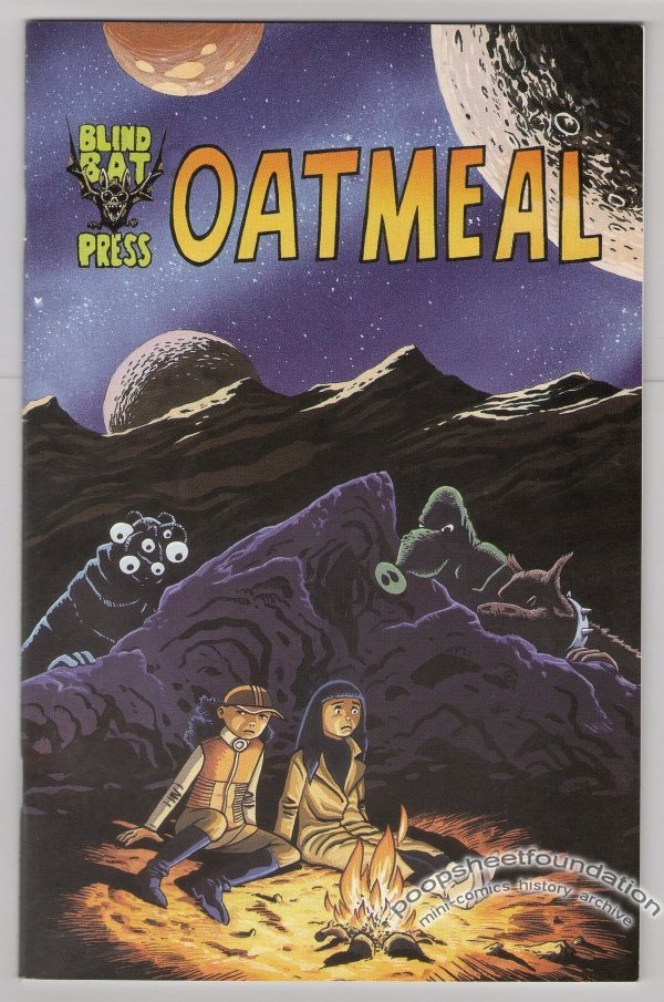 OATMEAL comic book HENRIK REHR Lars Horneman science fiction 1996