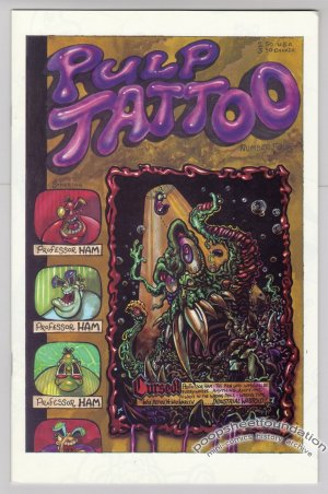 PULP TATTOO #4 Canadian comic MARK PETLOCK 1995