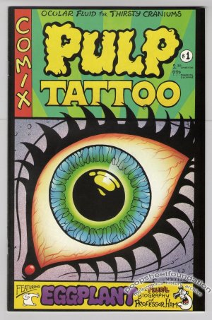 PULP TATTOO #1 Canadian comic MARK PETLOCK 1994