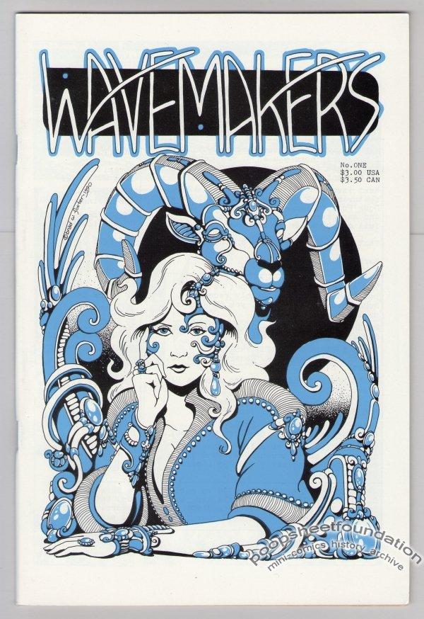 WAVEMAKERS #1 comics MATT HOWARTH Bernie Mireault DAVID ABU BACHA Brad Foster 1990