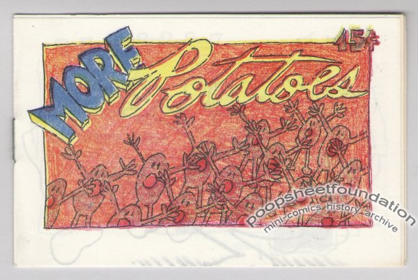 MORE POTATOES mini-comic ARTIE ROMERO Everyman newave underground comix 1980