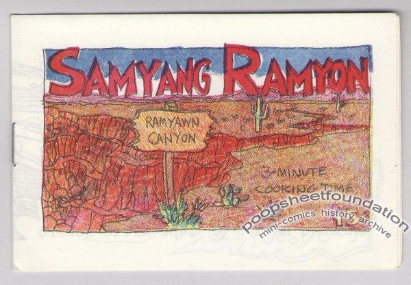 SAMYANG RAMYON mini-comic ARTIE ROMERO Everyman newave underground comix 1980