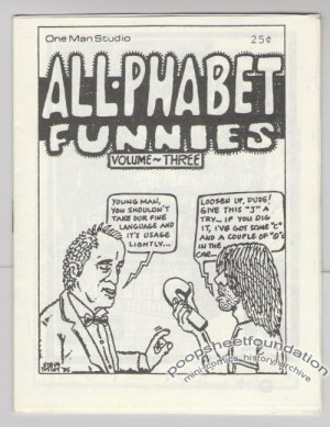 ALL-PHABET FUNNIES #3 mini-comic STEVE WILLIS Jeff Gaither ANDY NUKES 1986