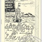 MAKING WAVES mini-comic JAMES WALTMAN underground comix minicomic 1980s