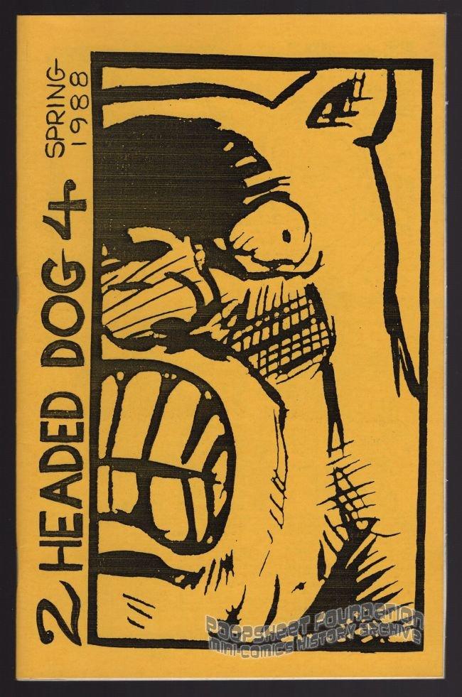 TWO-HEADED DOG #4 underground comix ERIK WEEMS Bill Nichols small press mini-comic 1988