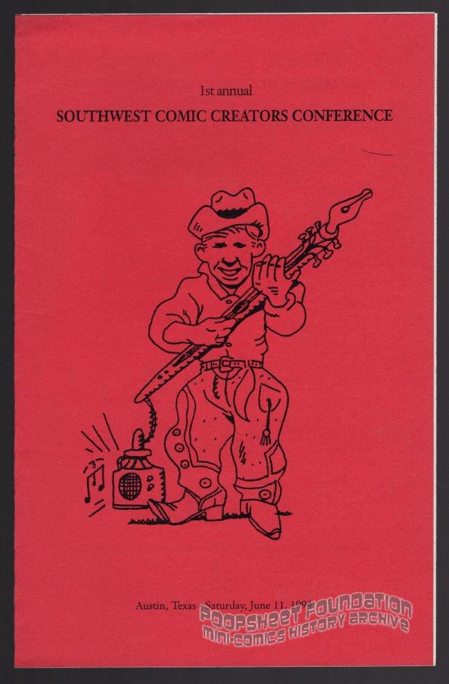 Southwest Comic Creators Conference 1994 Austin Texas Small Press Booklet