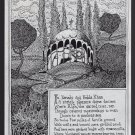 KUBLA KHAN mini-comic MARK DAVID DIETZ Samuel Taylor Coleridge small press zine 1994