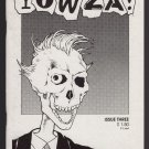 YOWZA #3 mini-comic anthology BRAD W. FOSTER Edward Bolman JIM SIERGEY Larry Blake 1990 comix