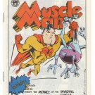 MUSCLE MAN underground comix NORM DWYER Phantasy Press mini-comic minicomic 1984