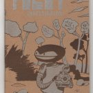ROBOT INVESTIGATOR mini comic VINCENT STALL King Mini comix 2001