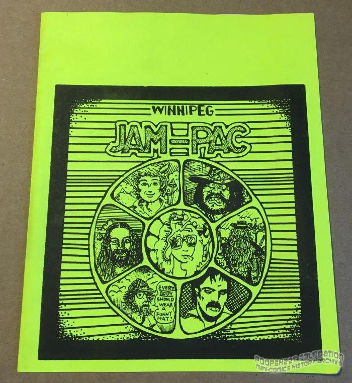 Winnipeg Jam-Pac WRAPPER underground comix FREE KLUCK Canadian mini-comic 1980s