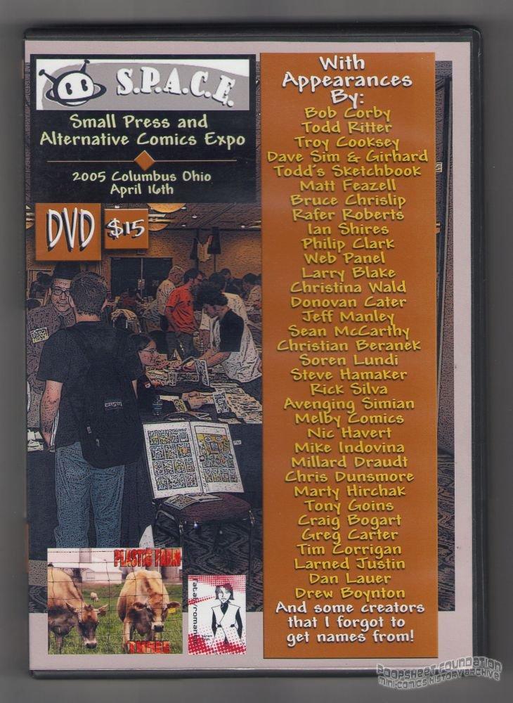 SPACE 2005 DVD convention video DAVE SIM Matt Feazell CHRISLIP Corrigan BLAKE