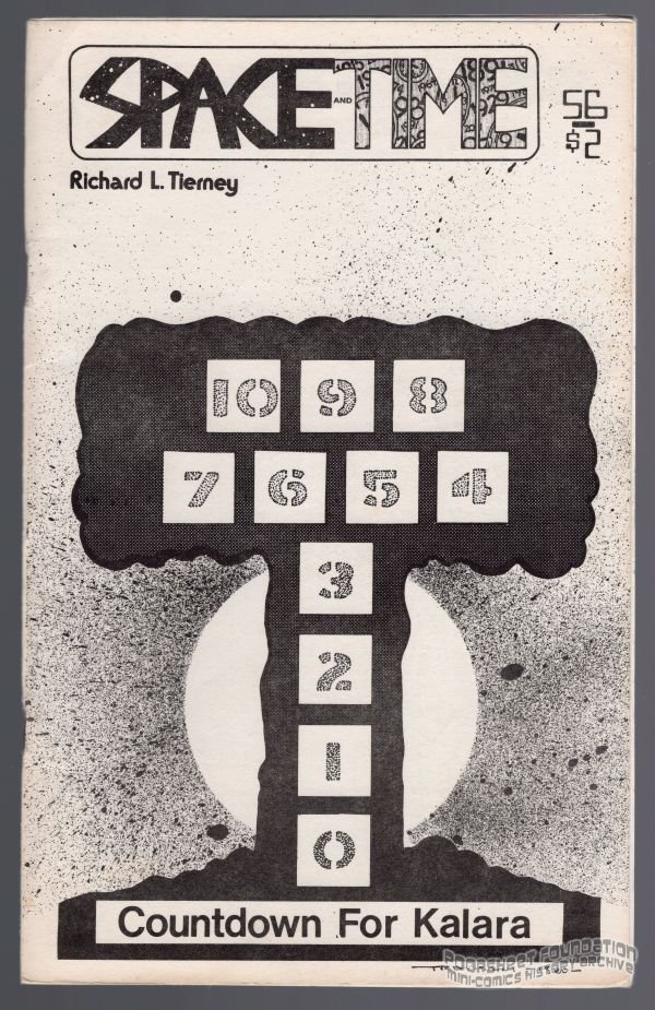 SPACE AND TIME #56 fanzine MICHAEL RODEN Allen Koszowski SF fantasy zine 1980