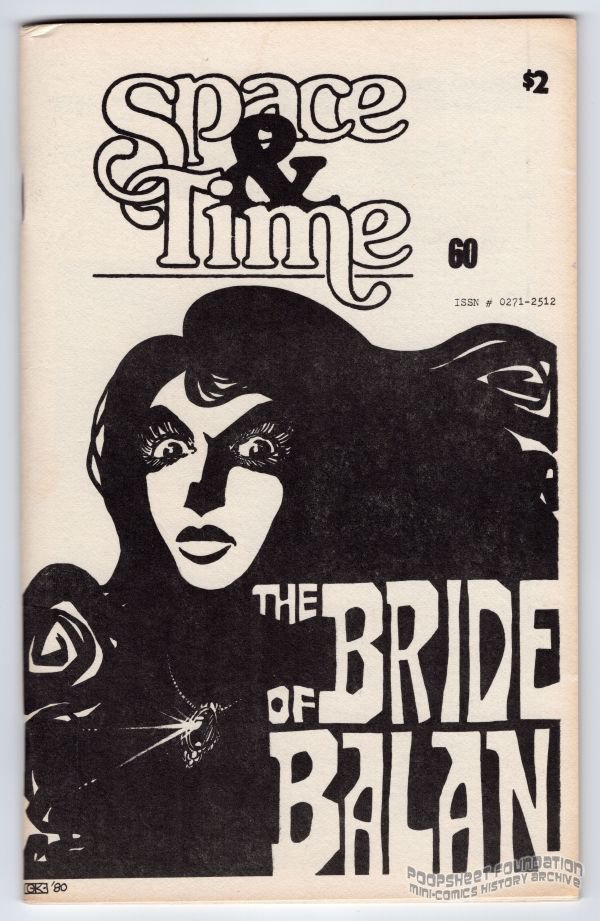 SPACE AND TIME #60 fanzine MICHAEL RODEN Gary Kato FORTIER SF fantasy zine 1981