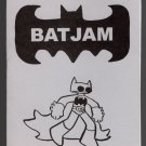 BATJAM mini-comic NEIL JAM Batman Neil Fitzpatrick 2001