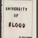 UNIVERSITY OF BLOOD underground comix VICKI OGDEN mini-comic 1985