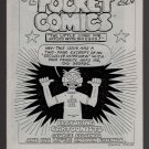 POCKET COMICS #2 mini-comic GEORGE STASINOS Victor Gates comix 1987