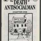 DEATH OF ANTISOCIALMAN #1 mini-comic MATT FEAZELL small press comix 1990