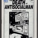 DEATH OF ANTISOCIALMAN #6 mini-comic MATT FEAZELL small press comix 1991